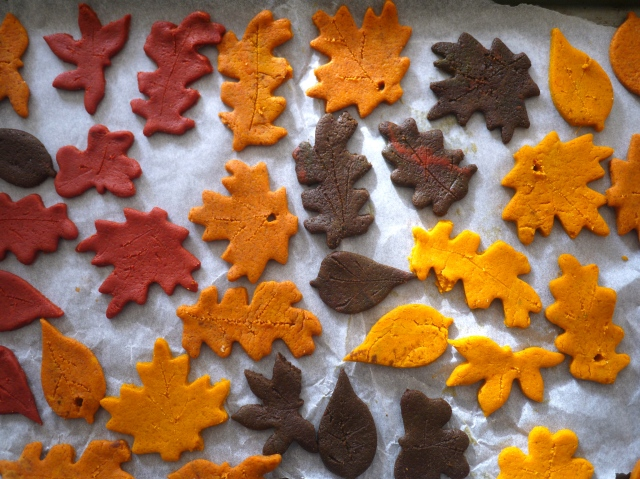 Autumn Salt Dough Leaves | Little Star and Me