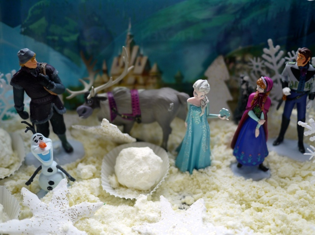 Frozen inspired small world play
