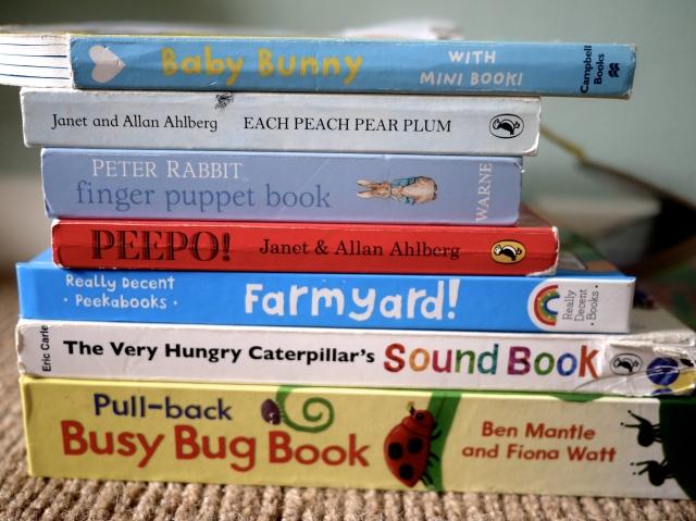 preschool books for spring